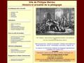 Site de Philippe Meirieu: Histoire et actualité de la pédagogie