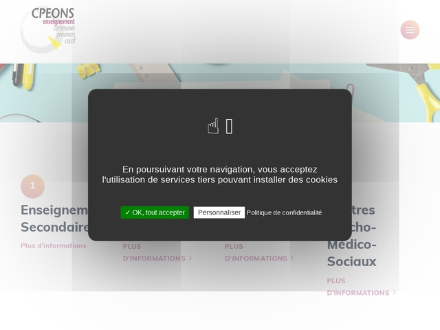 Enseignants - i-Central site- CPEONS