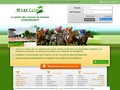 Sulkyland est un jeu gratuit de courses de chevaux virtuels.