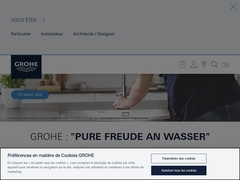 Grohe robinetteries
