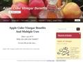 soins des animaux : vinaigre de cidre