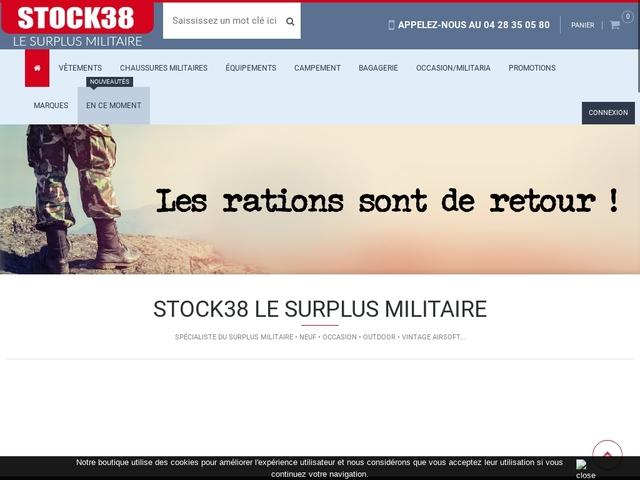 Stock 38 - surplus à Saint Quentin sur Isère
