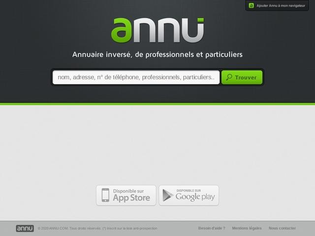 ANNU.COM - L'annuaire inversé !