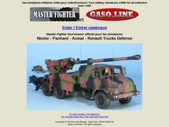 catalogue Master Fighter de miniatures militaires