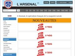 L'Arsenal, le spécialiste français de la maquette navale