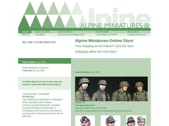 Figurines Alpines miniatures