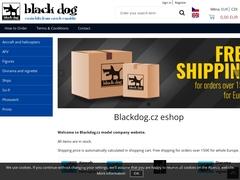 Site internet du fabricant Black Dog