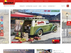 Plastic model kits 1:35 WWII and more by Miniart Models | Miniart
