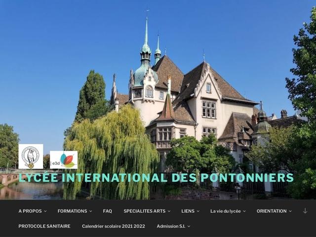 Lycée International des Pontonniers (Strasbourg)