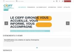 Centre Information sur les Droits des Femmes et des Familles CIDFF