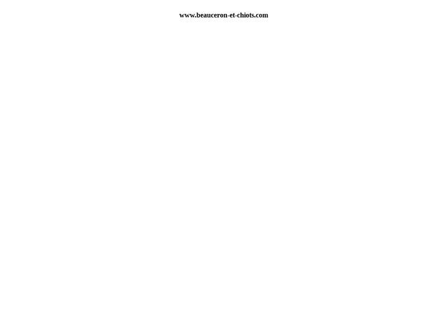 Beauceron Ombre Rouge De Phrygie