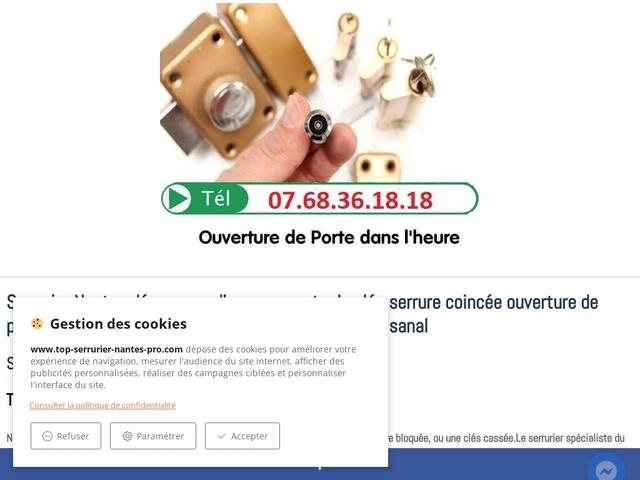 Serrurier Nantes tarifs et Avis