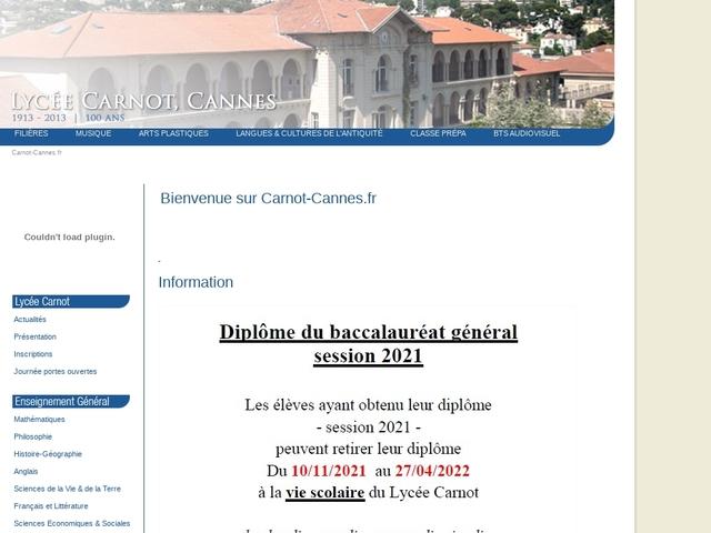 Lycée Carnot (Cannes)