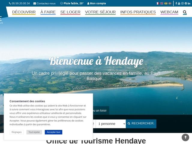 Hendaye office de tourisme