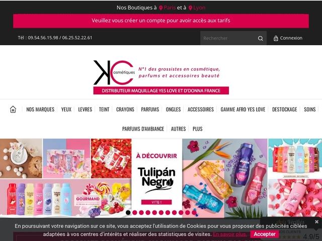 Maquillage Yesensy en Ile de France et Lyon - K COSMETIQUE