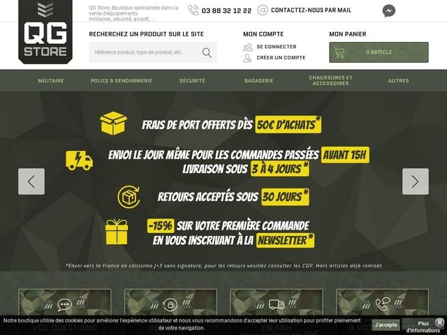 QG Store - Surplus militaire à Mulhouse