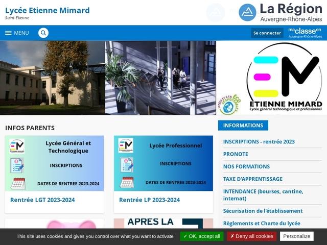 Lycée Etienne Mimard (Saint Etienne)