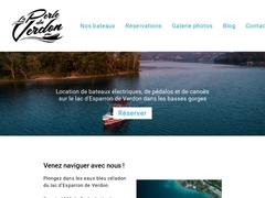 - bateaux electique Esparron