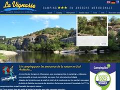 Camping en Ardèche Méridionale ** La Vignasse