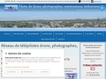 Pilote de drone, bassin d'Arcachon en Gironde