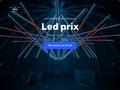 Décoration LED pour boutique pas chère