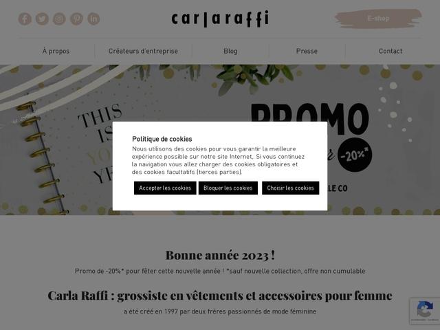 Carla Raffi, grossiste en prêt-à-porter pour femmes