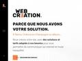 Web-Création, créateur de sites internet à tarif maîtrisé