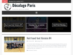 Décalage Handball Paris