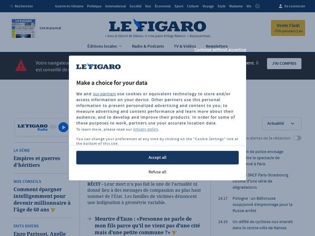 Le Figaro - Actualités France