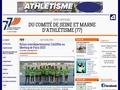 Site Officiel du Comité de Seine et Marne d'Athlétisme (77)