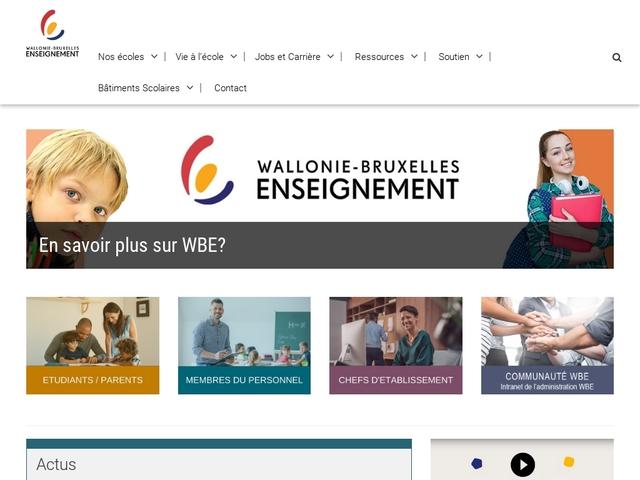 Programmes de cours de l'Enseignement organisé par la FWB