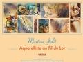 Martine - Jolit - Aquarelles