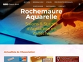 Rochemaure Aquarelle