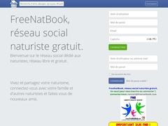 FreeNatBook - Réseau social naturiste libre et gratuit.