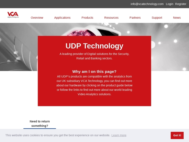 UDP Technology - Unlimited Digital Power