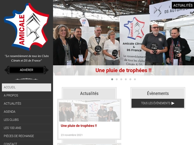 Amicale des clubs Citroën & DS France