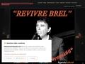 Bernard Alexandre interprete Jacques Brel