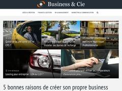 L'univers de l'entreprise dans un site web