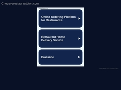 Chez Eve - Restaurant BIOn
