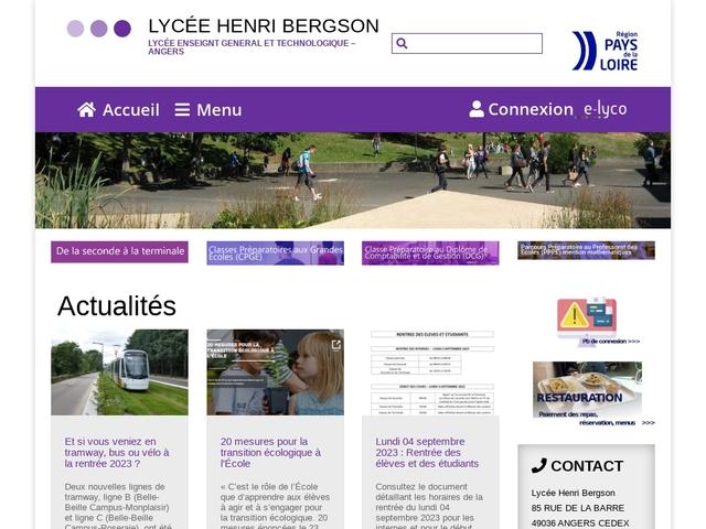Lycée Henri Bergson (Angers)