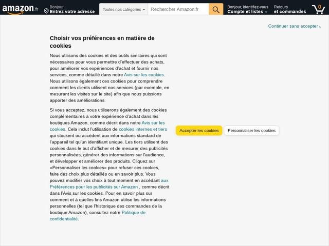 Amazon.fr :  jeux vidéo,high-tech, informatique et plus encore !