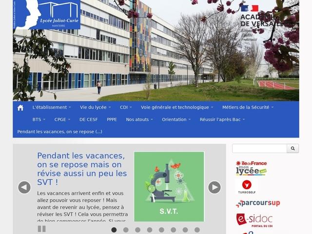 Lycée Joliot Curie (Nanterre)