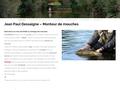 Jean-Paul Dessaigne - Montage des mouches