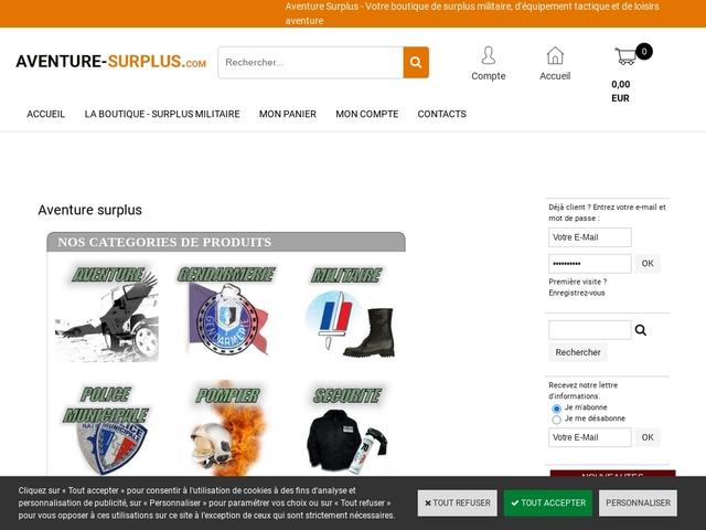Aventure Surplus - Surplus militaire dans l'Ain