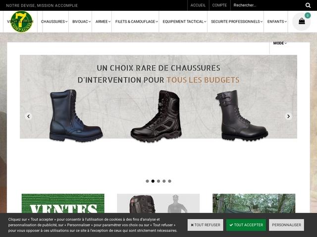 7ème compagnie - surplus militaire à Lille