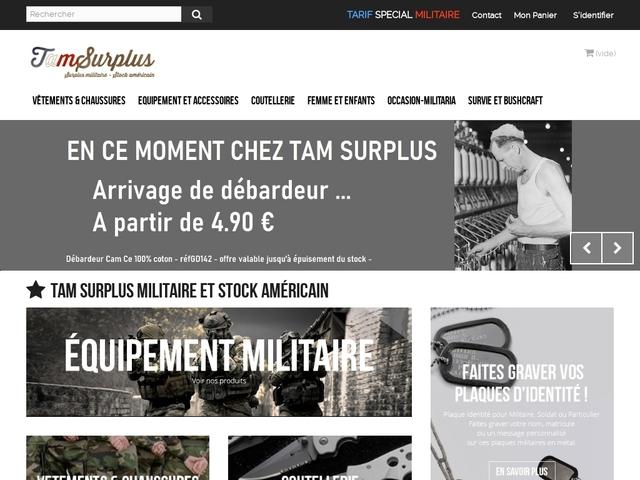 Tam Surplus - surplus militaire à Lyon