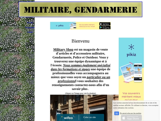 Military Shop 82