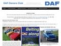 DAF OWNERS CLUB - Le club DAF du Royaume-Uni