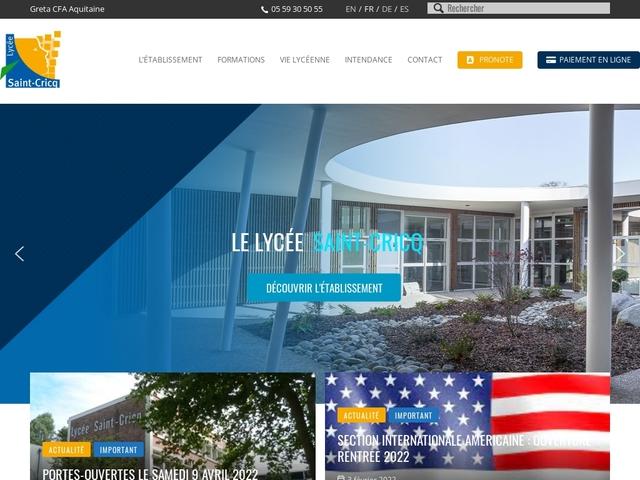 Lycée Saint Cricq (Pau)