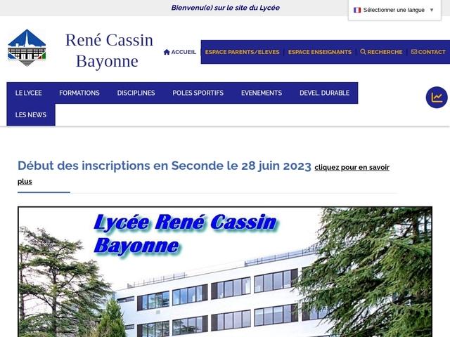 Lycée René Cassin (Bayonne)